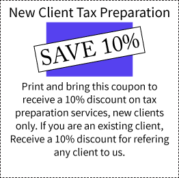 New Client Discount Coupon